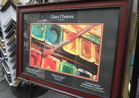 POSTERS ON BOARD | Glass Choices | Minneapolis