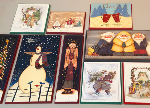Seasonal Images, Wood Mounted, for the Holidays!