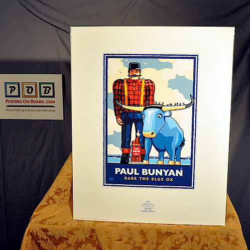 Mark Herman, Paul Bunyan Lakeside, 16x20