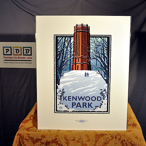 Mark Herman, Kenwood Park Winter, 16x20