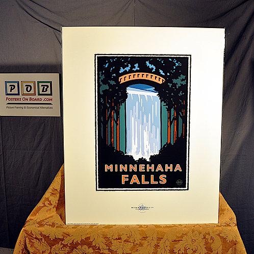 Mark Herman, Minnehaha Falls Minneapolis, 16x20