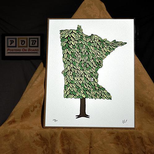 Brian Geihl, Minnesota Grown - Summer, 11x14, Limited Edition, 273-500, 25