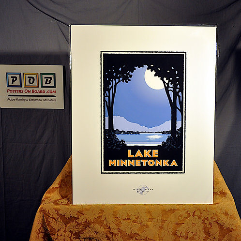 Mark Herman, Lake Minnetonka Moonlight, 16x20