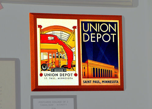 Adam Turman, Union Depot, 2 Card Collage
