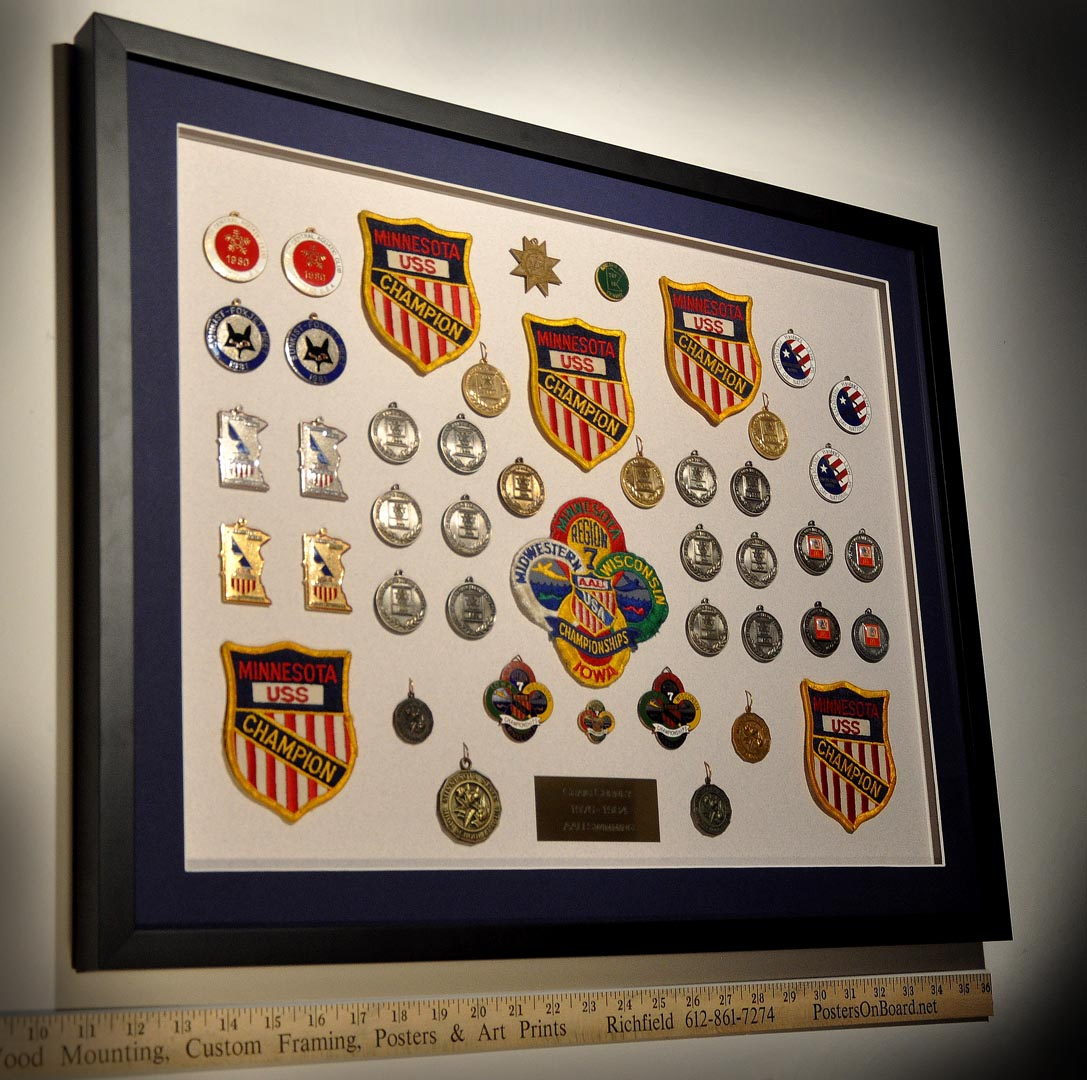 47 Item Shadow Box