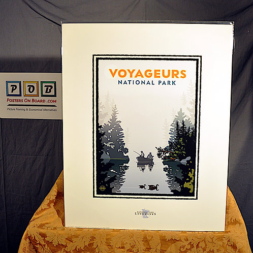 Mark Herman, Voyageurs National Park, Pre-Mounted, 16x20