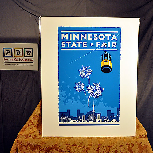 Mark Herman, Minnesota State Fair Blue, 16x20