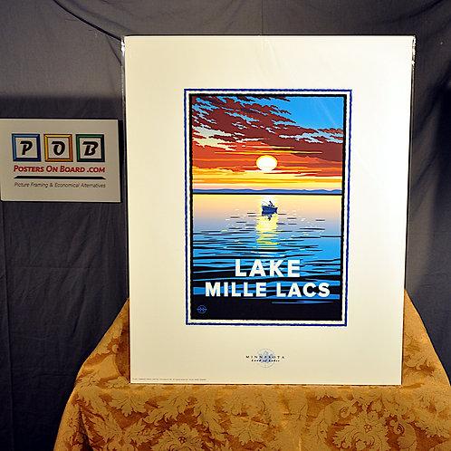 Mark Herman, Lake Mille Lacs, 16x20