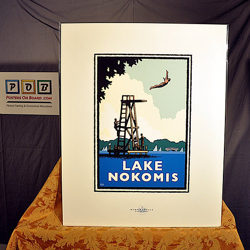 Mark Herman, Lake Nokomis High Dive, 16x20