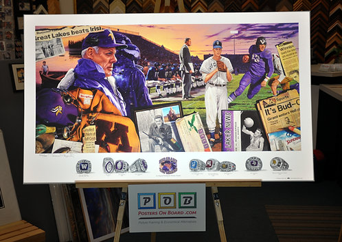 Terrence Fogarty, Bud Grant The Legend