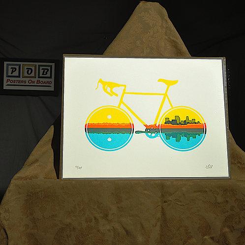 Brian Geihl, Summertime Bike, 11x14, Limited Edition, 46-125, 25