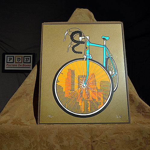 Brian Geihl, City Bike, 11x14, Limited Edition, 158-300, 25