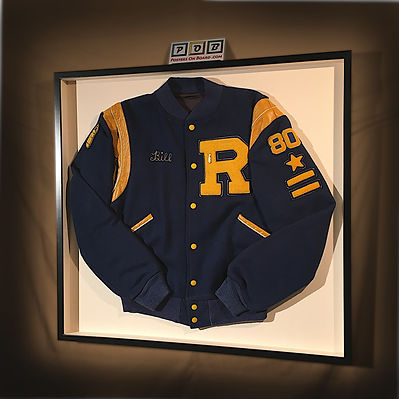 Letter Jacket Shadow Box Frame