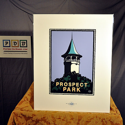 Mark Herman, Prospect Park Witch Hat Water Tower, 16x20