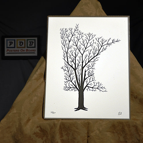 Brian Geihl, Minnesota Grown - Winter, 11x14, Limited Edition, 369-500, 25
