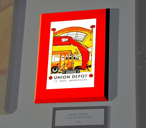 Adam Turman, Union Depot, Single Card