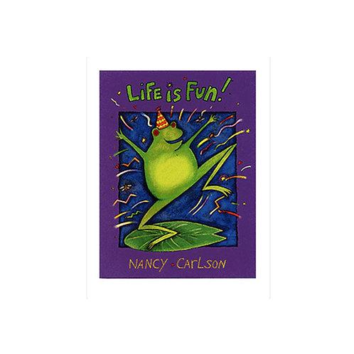 Nancy Carlson, Life Is Fun, Frog, 16x22