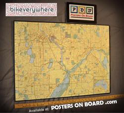 PostersOnBoard.co, Bikeverywhere Map