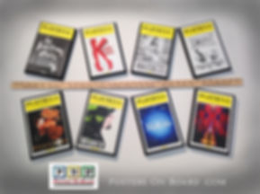 Wood Mounting Playbills make Great Memories!
