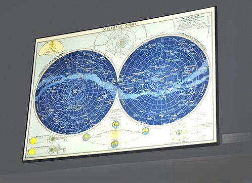 Vintage Celestial Chart