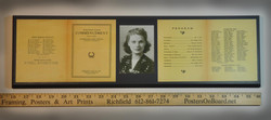 Graduation 1940 Wood Mounting