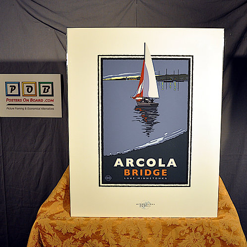 Mark Herman, Lake Minnetonka Arcola Bridge, 16x20