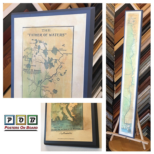 Father of Waters, Mississippi River Art Print (UnFramed)