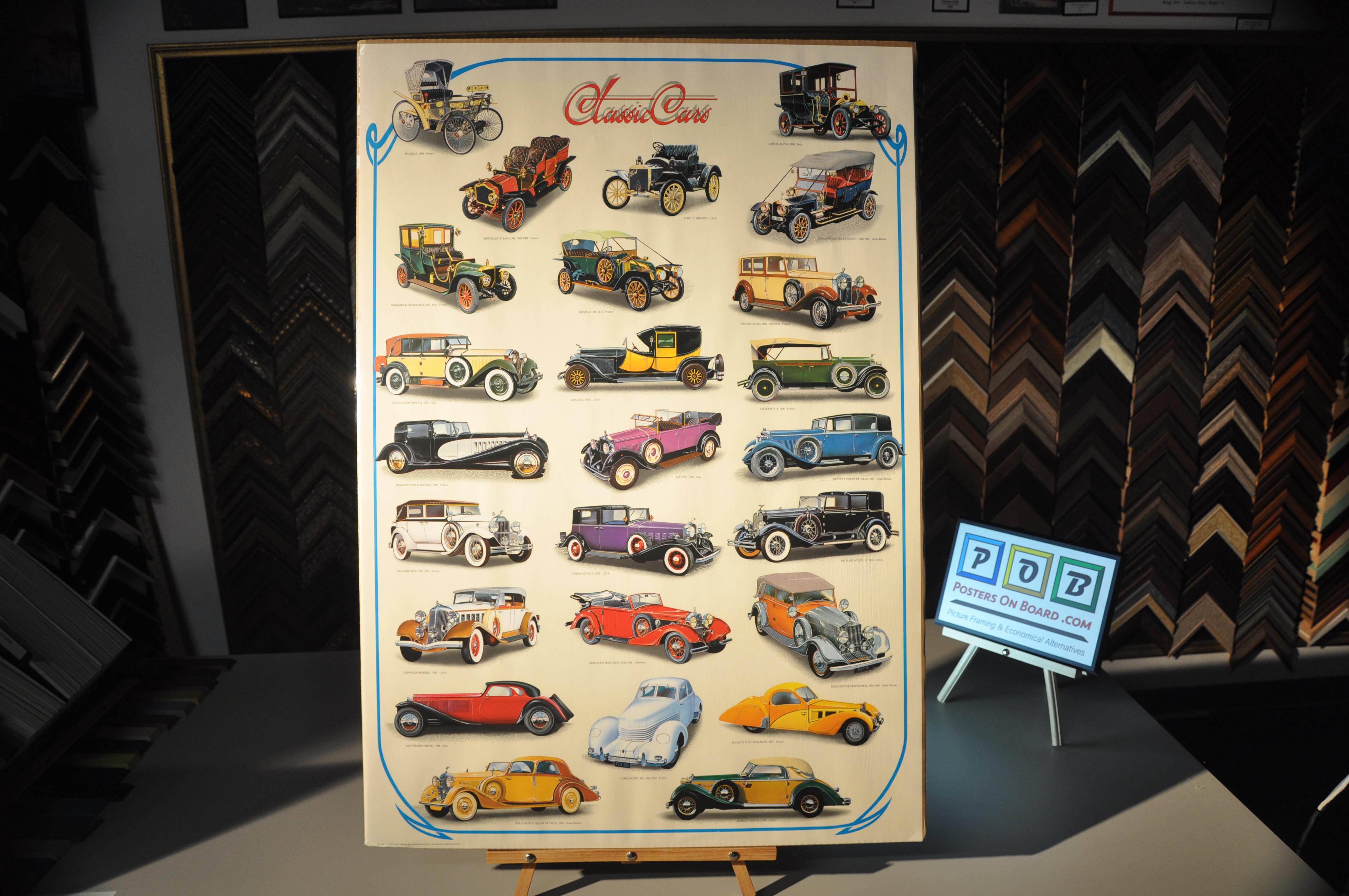 PostersOnBoard.com, Transportation