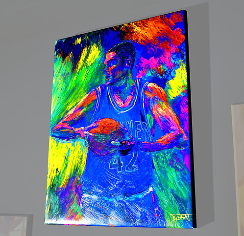 Robert Blehert, Basketball $42 Kevin Love, 18x24