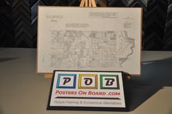 PostersOnBoard.com, Maps, Charts