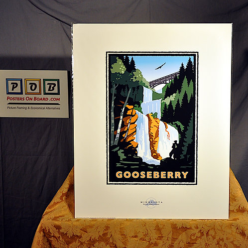 Mark Herman, Gooseberry Falls Lake Superior, 16x20