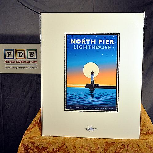 Mark Herman, Duluth North Pier Light House, 16x20
