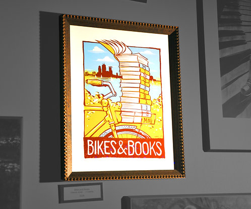 Adam Turman, Bikes & Books