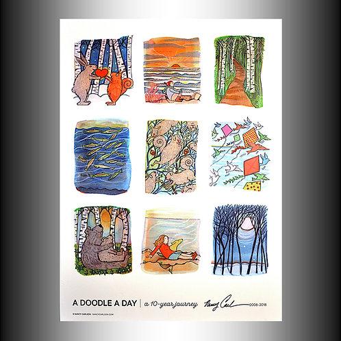 Nancy Carlson, A Doodle A Day