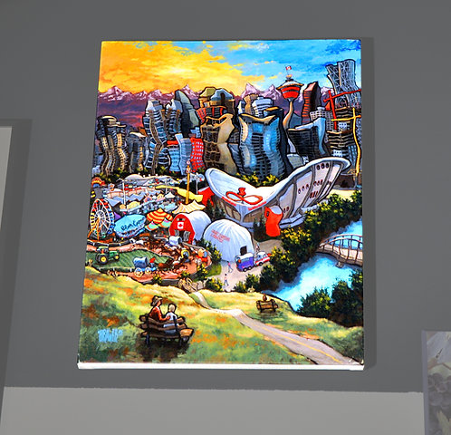 Michael Birawer, Calgary, Stretched Canvas