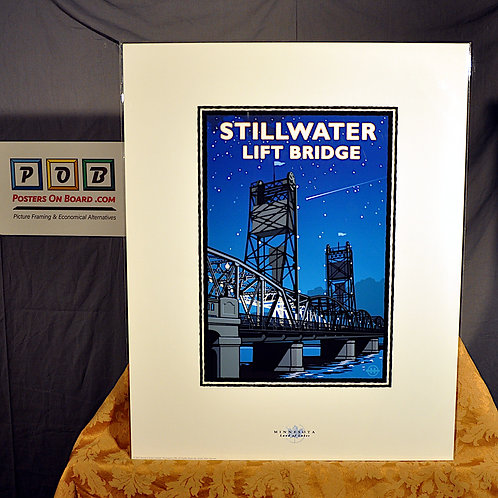 Mark Herman, Stillwater Lift Bridge, 16x20