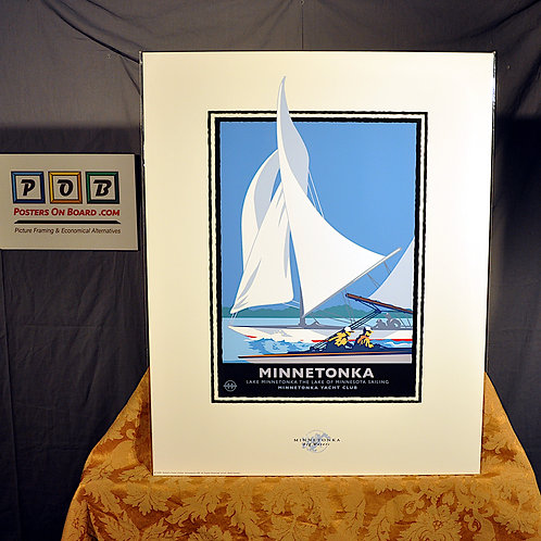Mark Herman, Lake Minnetonka Sail, 16x20