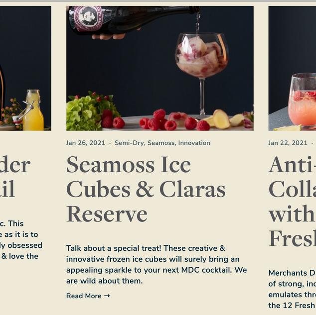 Merchants Daughter Cider Website