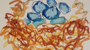 """Pondering Nests""                           Interview with Susan Gansert Shaw"