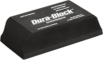 Dura-Block® AF4401 Type 1/3 Sanding Block, 2-5/8 in W x 5-1/2 in L