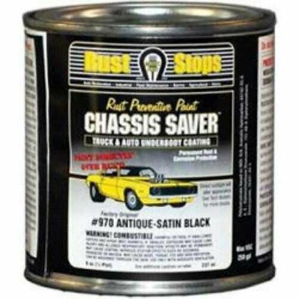 Chassis Saver, Satin Black, 8 oz.