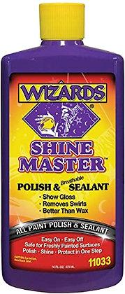 WIZARDS® SHINE MASTER™ 11033 Polish and Breathable Sealant, 16 fl-oz
