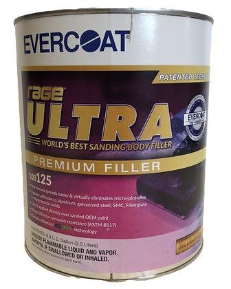 EVERCOAT® Rage® Ultra 100125 Body Filler, 1 gal Can, Light Gray