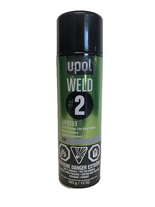 U-POL® UP0789 WELD#2 Weld-Through Primer, 12 oz Aerosol, Metallic Silver