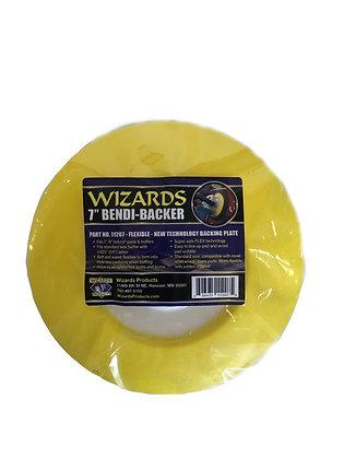 WIZARDS® Bendi-Backer™ 11207 Backing Plate, 7 in Dia