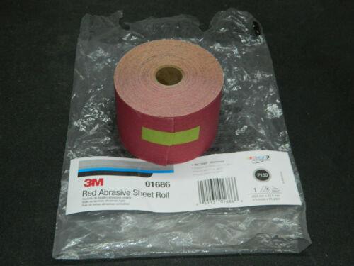 3M™ 01686 316U Series Abrasive Sheet Roll, 2-3/4 in W x 25 yd L, P150 Grit