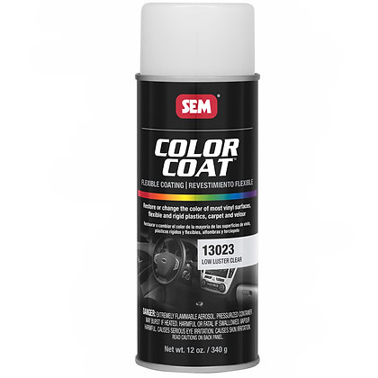 Color Coat™ 13023 Flexible Coating, 16 oz Aerosol Can, Low Luster Clear