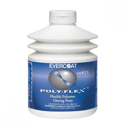 EVERCOAT® POLY-FLEX™ 100411 Polyester Glazing Putty, 30 oz