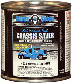 Chassis Saver, Silver Aluminum, 8oz.
