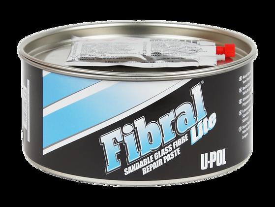 U-POL® FIBRAL LITE UP0766 Lite Fiber Glass Filler, 1 qt Tin, Yellow